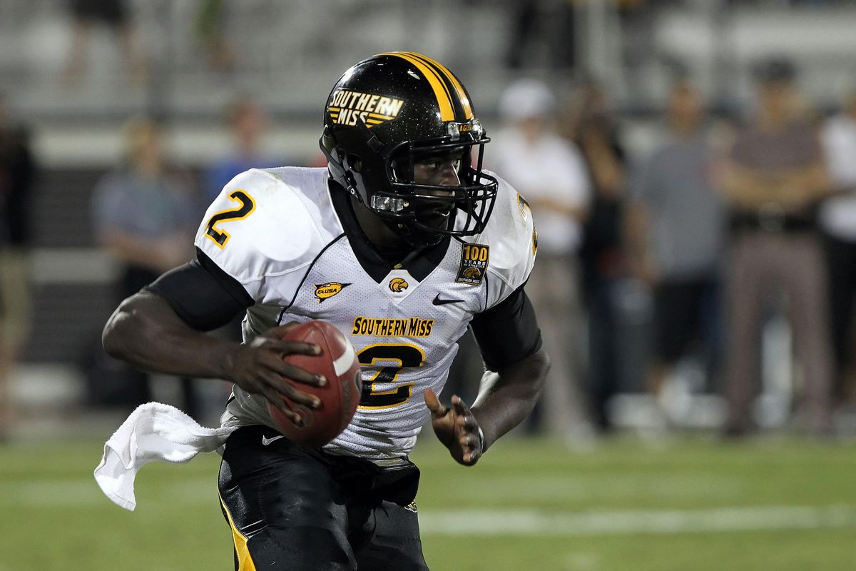 Anthony Alford, as Southern Miss' quarterback in 2012
