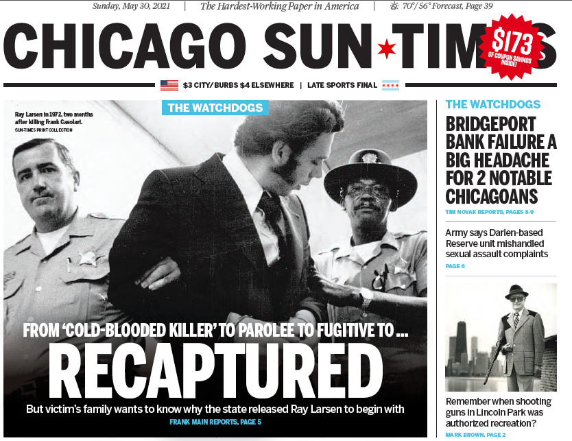 Click to read the Sun-Times' May 30, 2021, report.