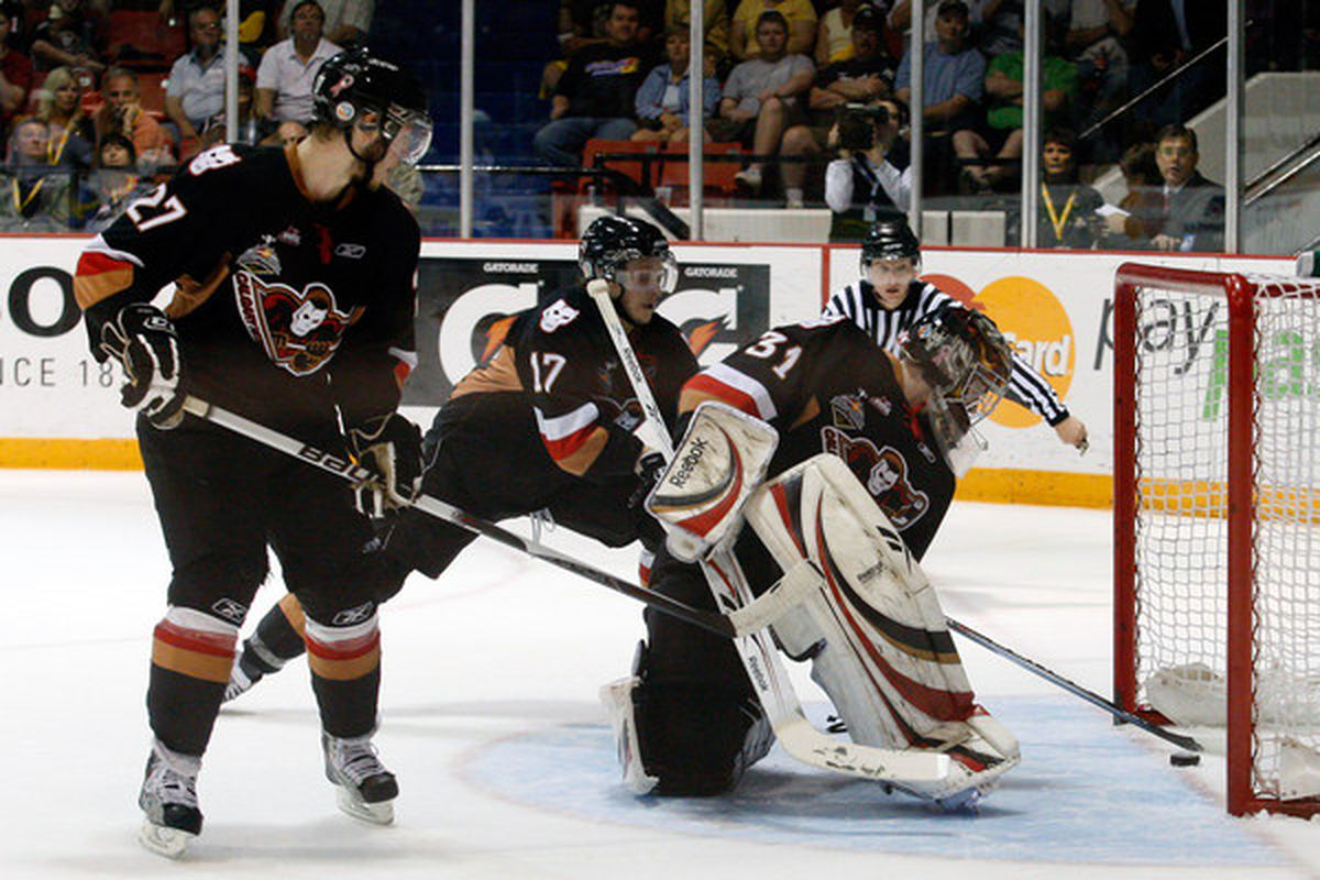 Martin Jones was another undrafted signee from the Hitmen.