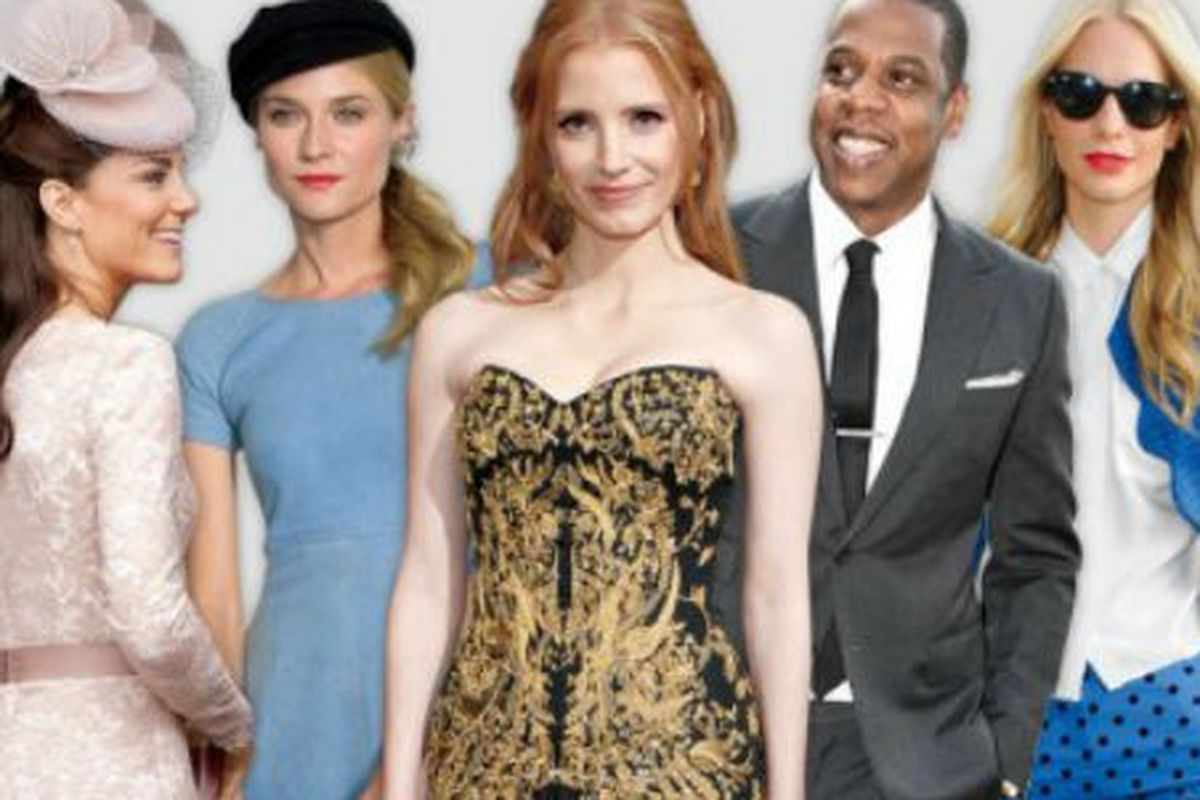 The 20 Best-Dressed Famous People in the World, According ...