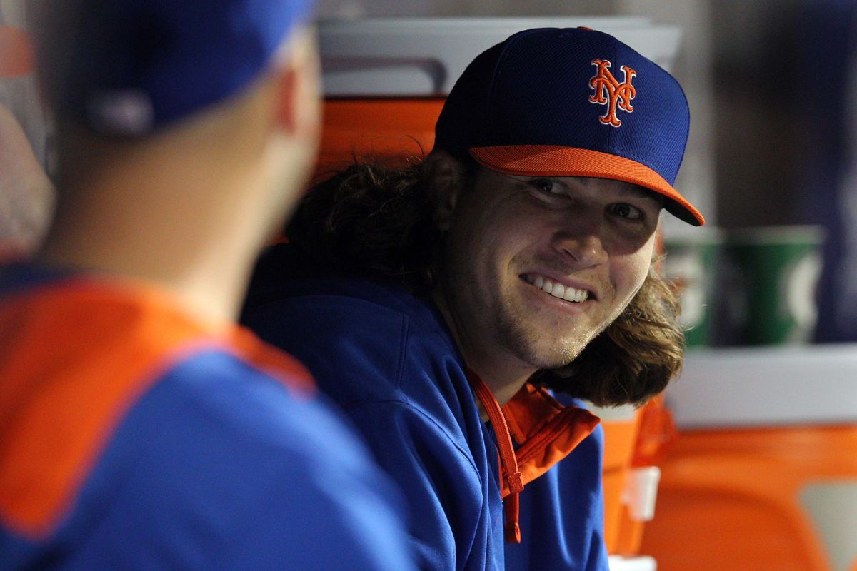 OK, I'll say it. These Mets are a good looking bunch.