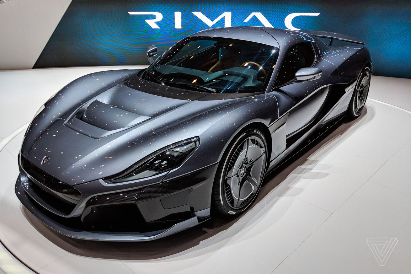 rimac s concept two is a soulless speed demon you unlock with your face
