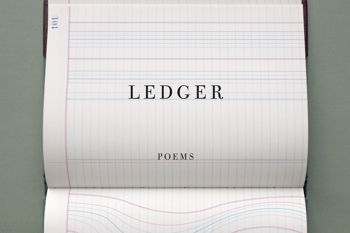 The cover of the poetry book Ledger by Jane Hirshfield.
