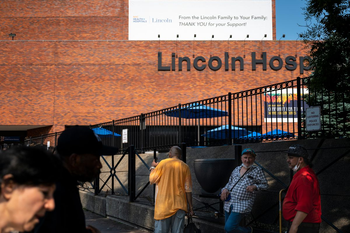 Lincoln Hospital in the South Bronx, July 16, 2021.