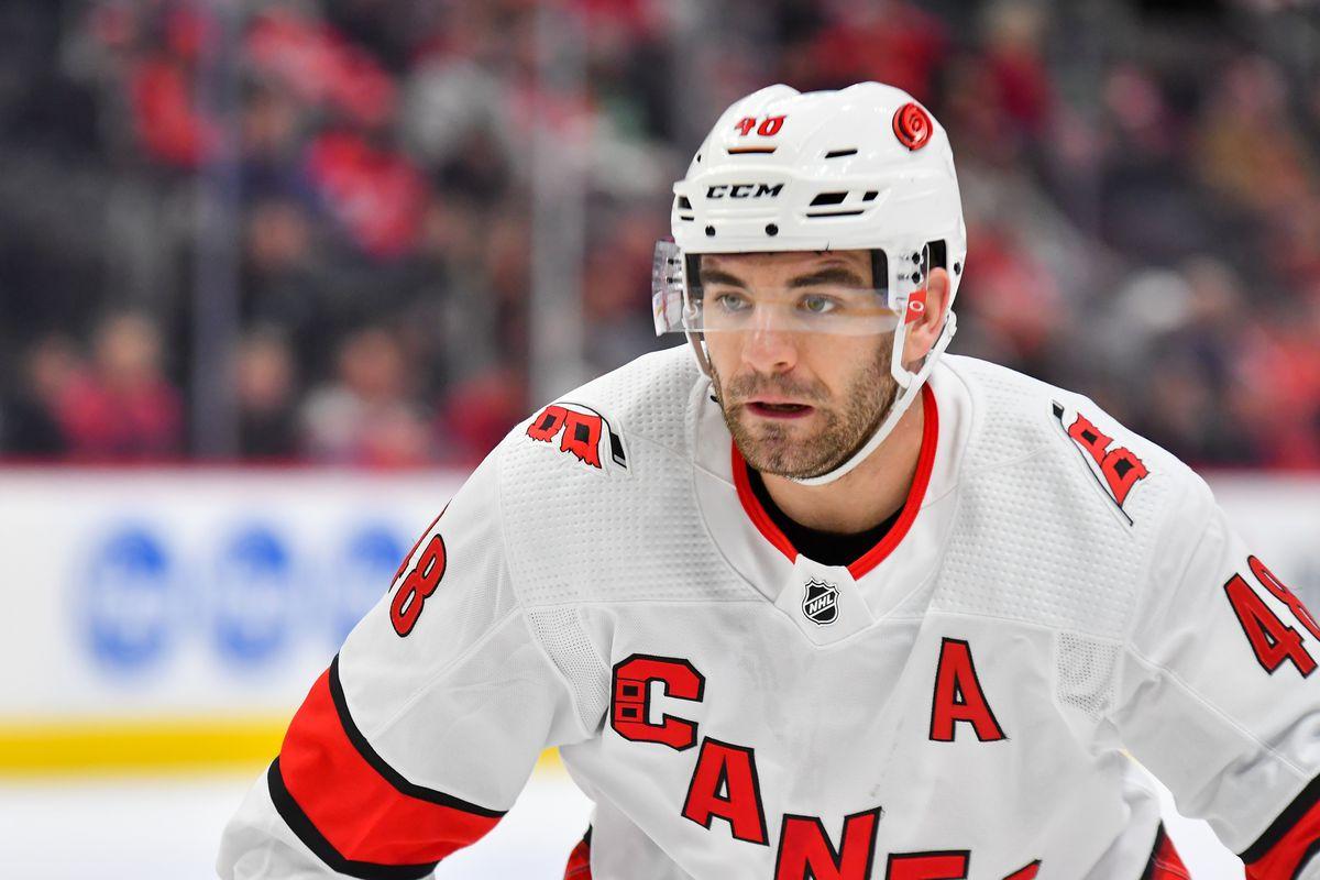 NHL: NOV 24 Hurricanes at Red Wings