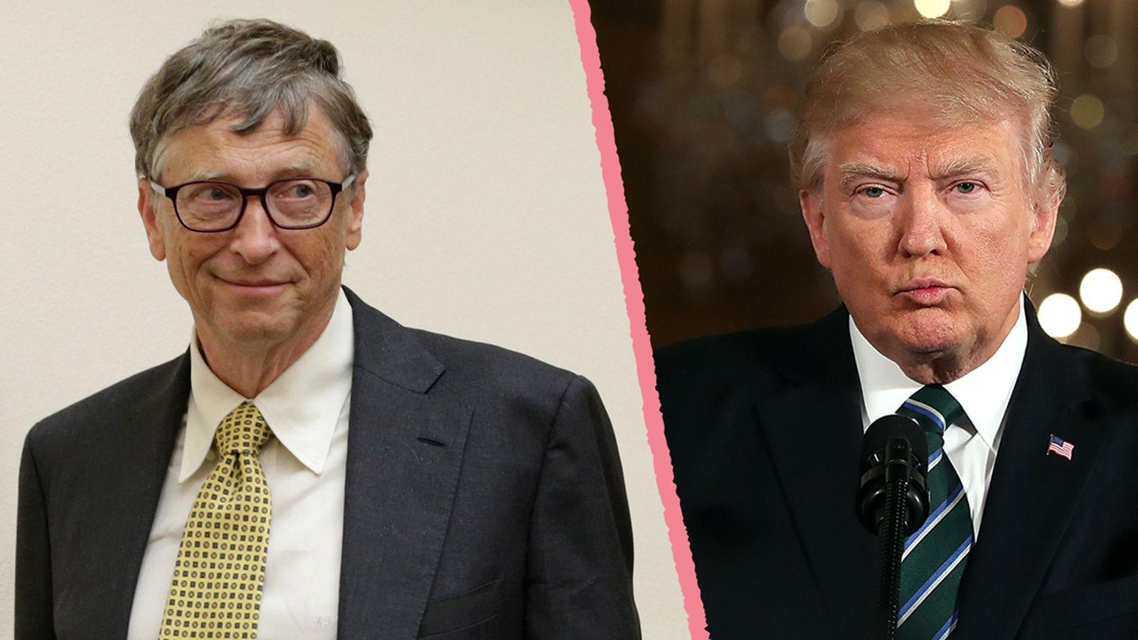 Bill Gates Donald Trump