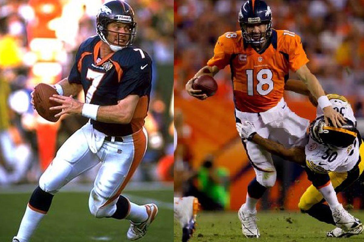 fafdf0e53 1998 Denver Broncos v. 2013 Denver Broncos: Who wins? - Mile High Report
