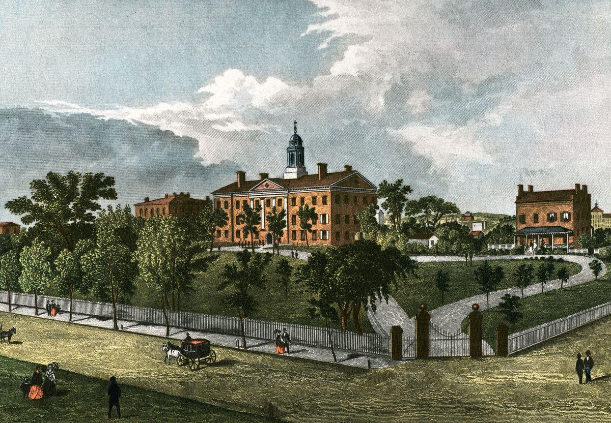 Rutgers University In 1844