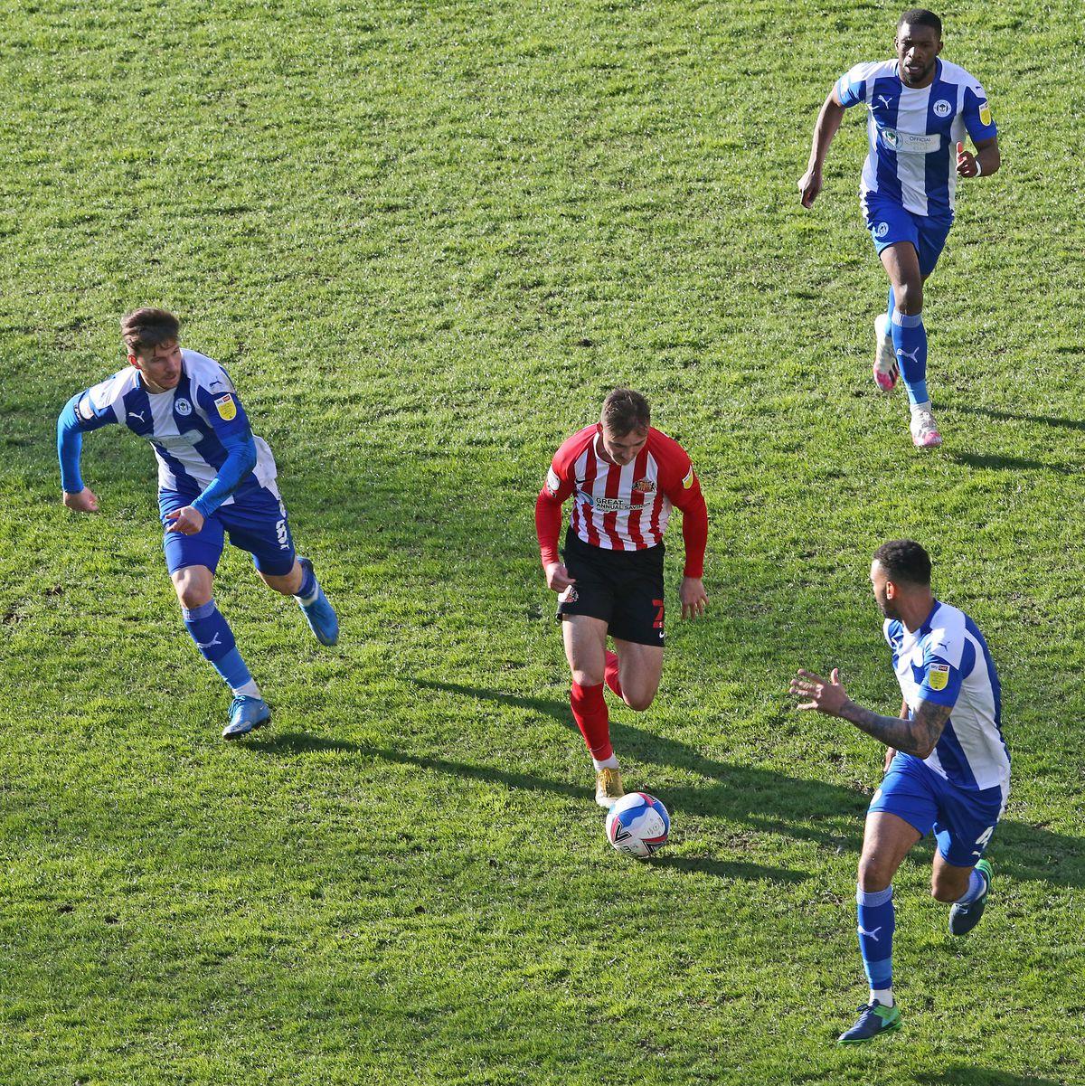 Wigan Athletic v Sunderland - Sky Bet League One