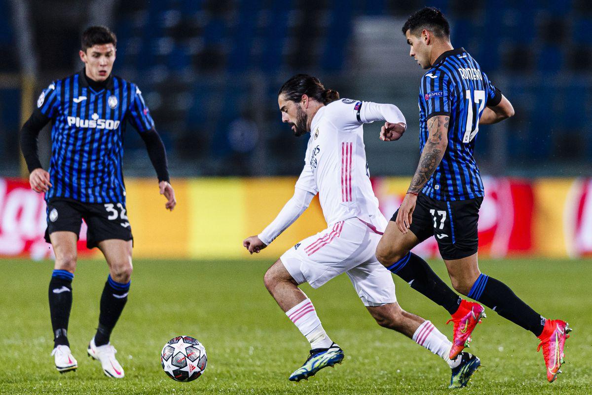 Atalanta v Real Madrid - UEFA Champions League round of 16