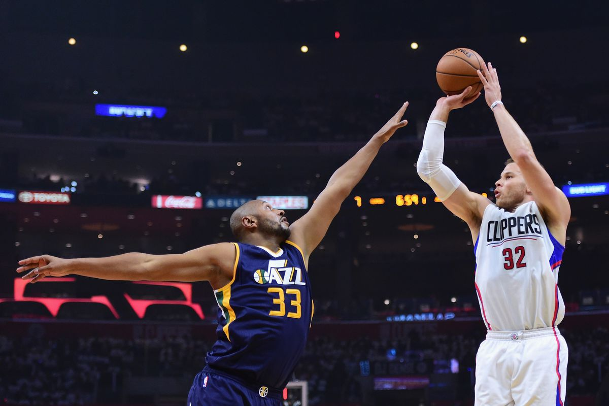Utah Jazz v Los Angeles Clippers - Game One