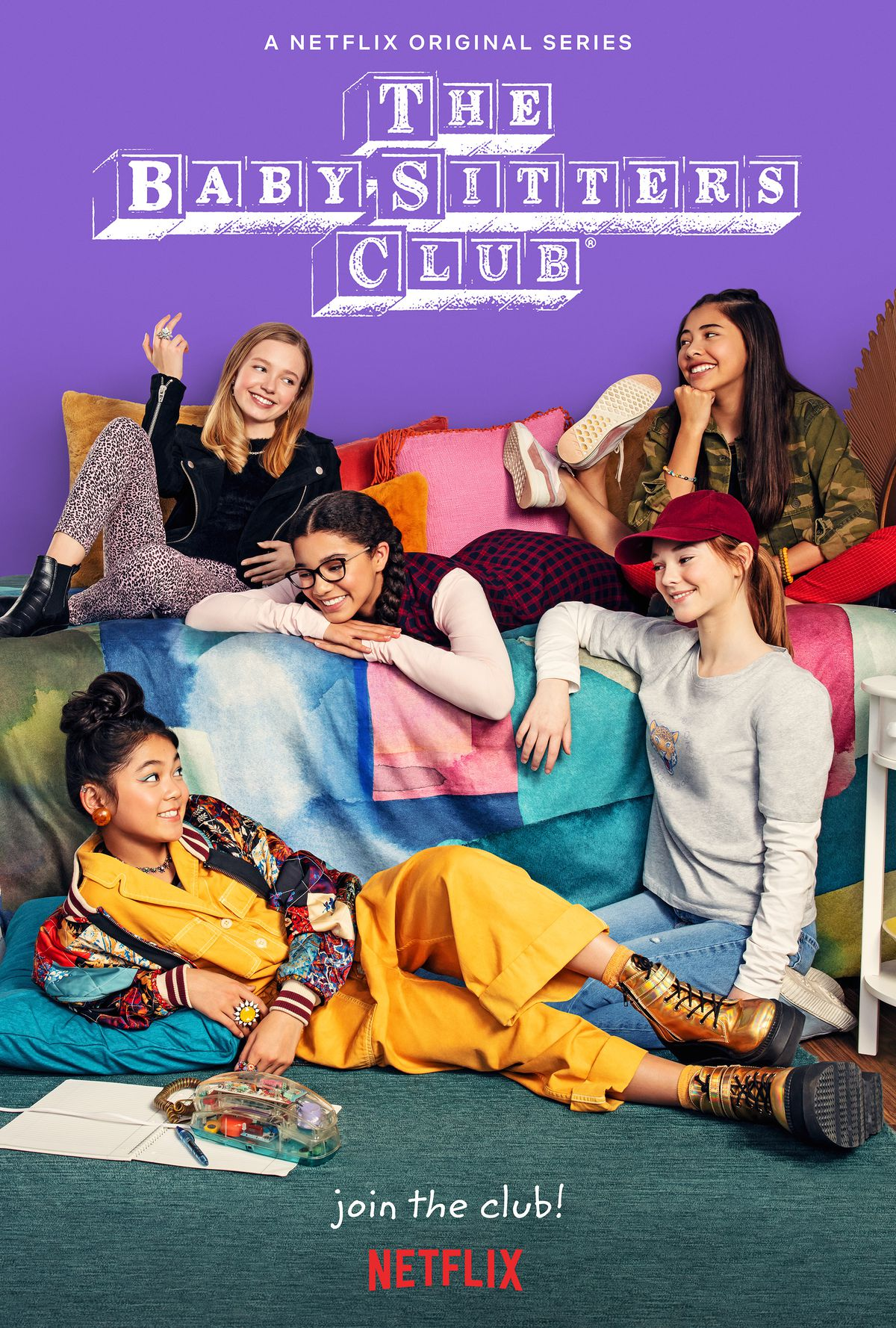 the characters of the baby sitters club