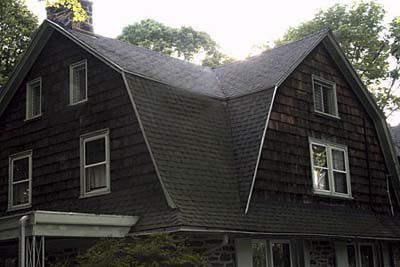 Gambrel Roof On A House