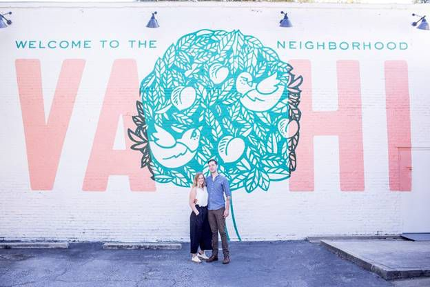 Rachael Pack and Myles Moody owners of Kinship Butcher and Sundry in Virginia-Highland