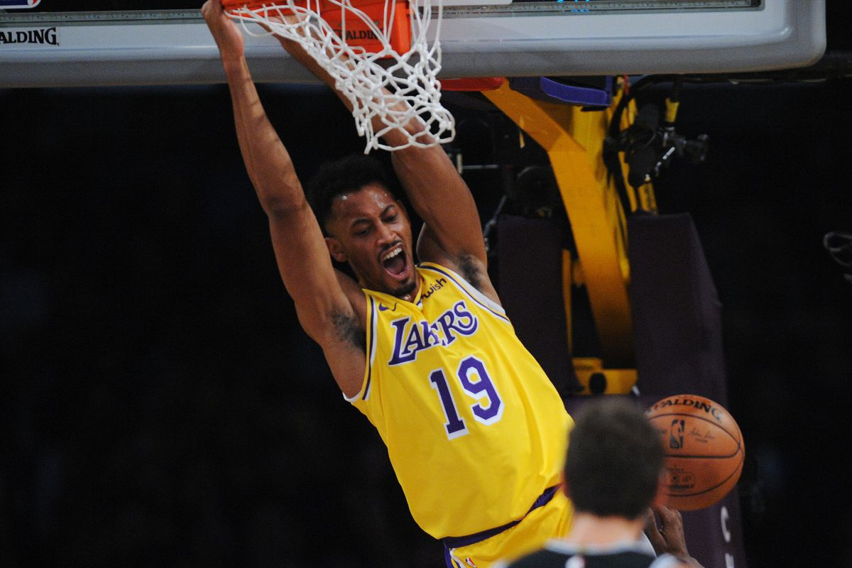 Johnathan Williams Made History In His NBA Debut But Hes Just Thankful The Lakers Gave Him A Second Chance