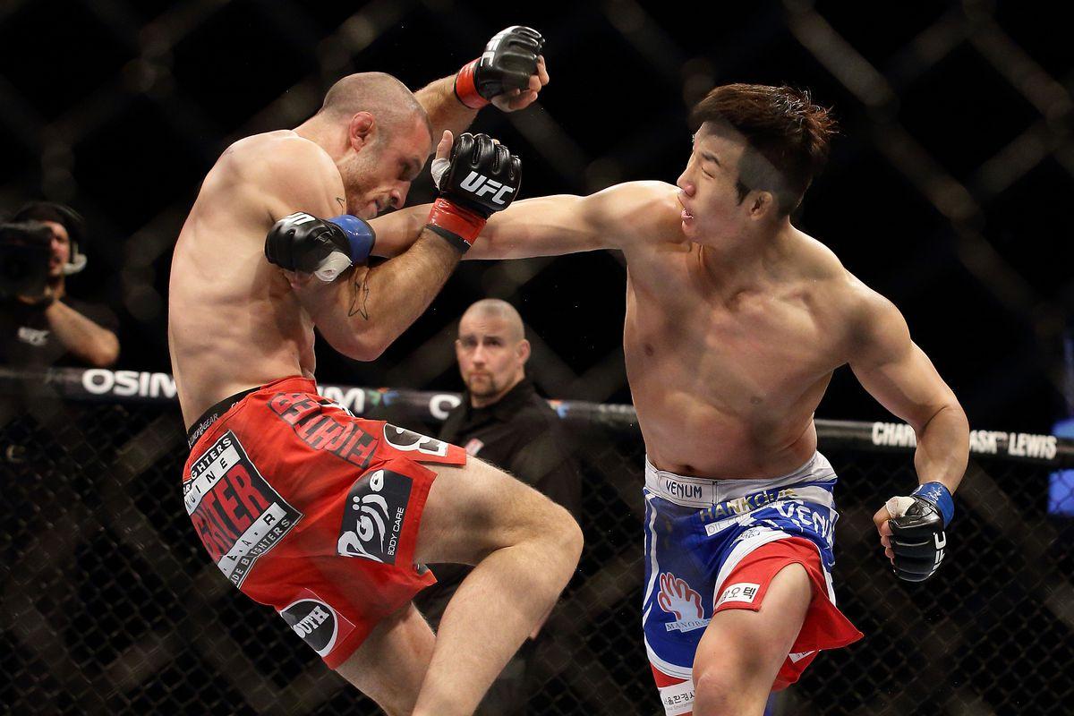 UFC Fight Night: Saffiedine v Lim