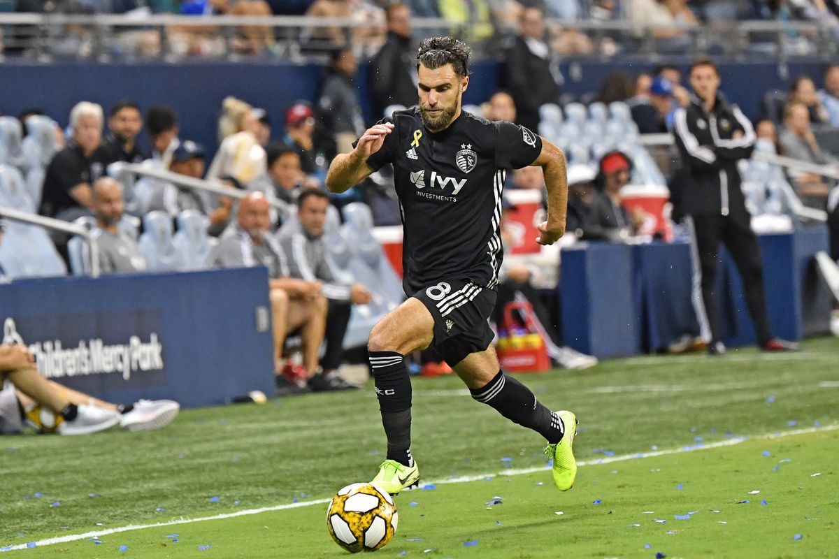 Sporting KC's Zusi with one of MLS' Top Selling Jerseys
