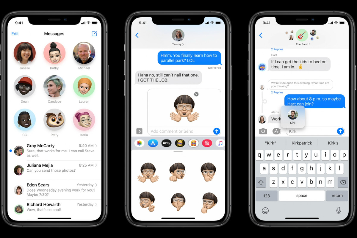 messages app ios 14