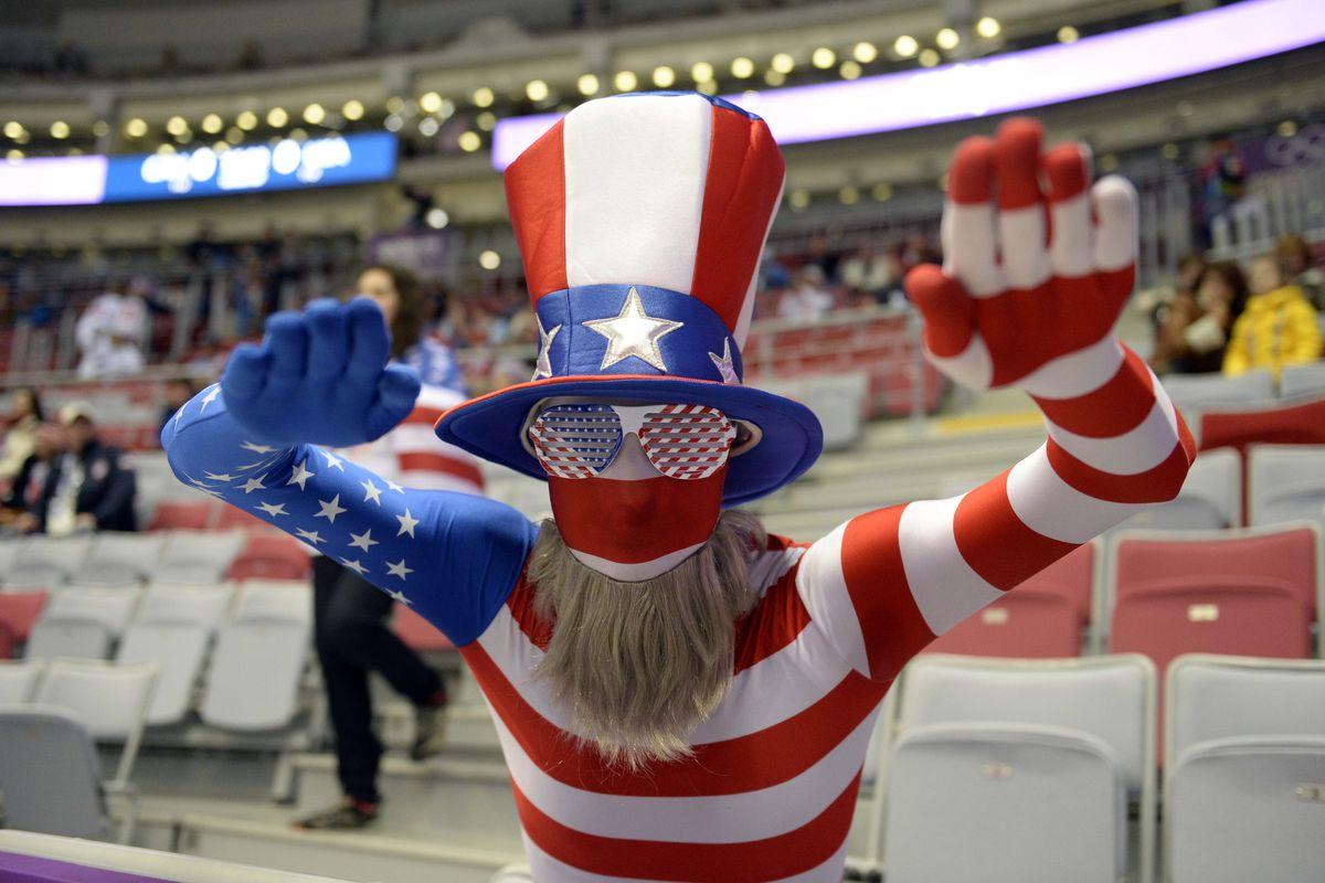 Woooo, USA!