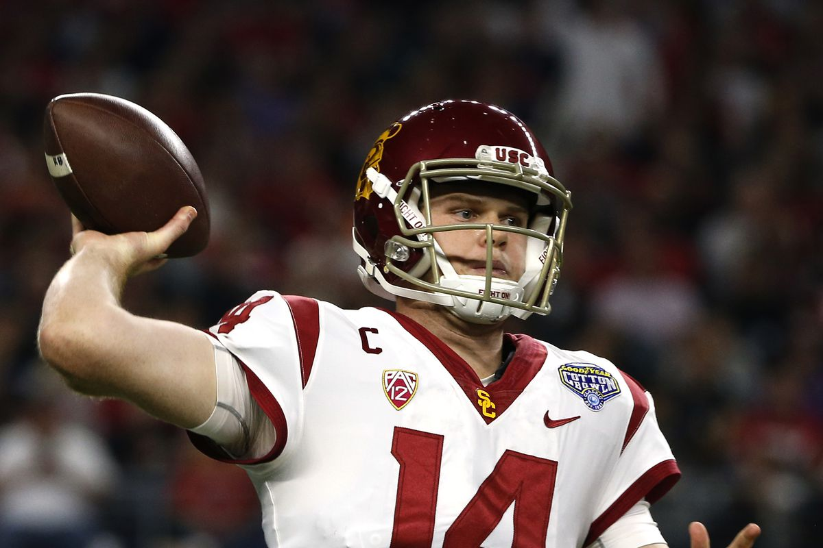 Jets Draft Results Qb Sam Darnold Is 3rd Overall Pick
