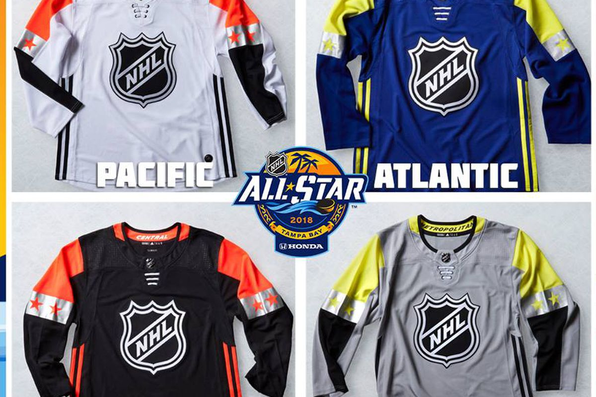 bae2d97c0 Fan Poll Friday  How About Those ASG Jerseys     The NHL released the ASG  jerseys for the 2018 Honda All Star Classic and they ...