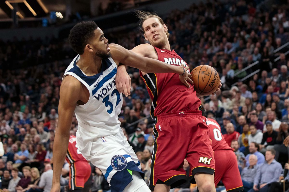 Game Preview Miami Heat Host Wolves In 2018 Finale Hot Hot Hoops
