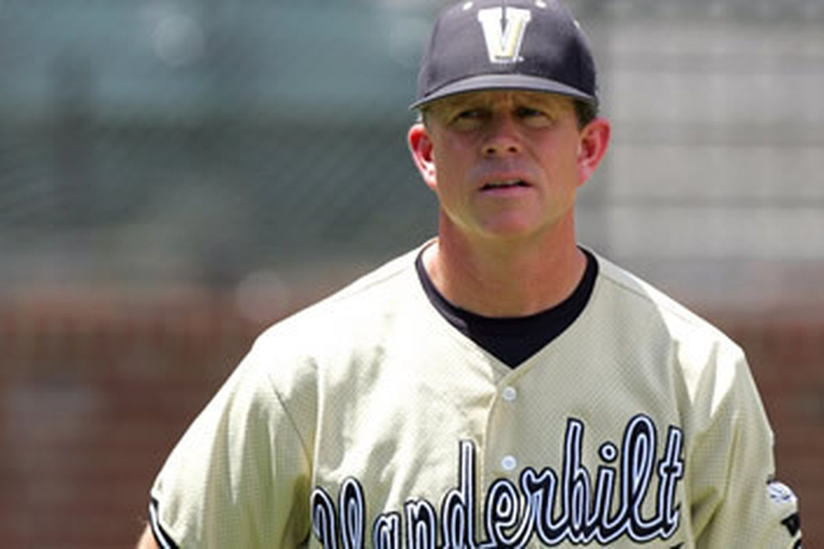 Tim Corbin notched his 400th win as a head coach this week, an occasion important enough for me to use an actual Vanderbilt baseball picture instead of one from 1891.