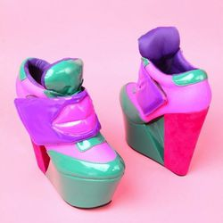 We don't think we'd ever wear these shoes but we can think of one person who may: Nicki Minaj. $84.90