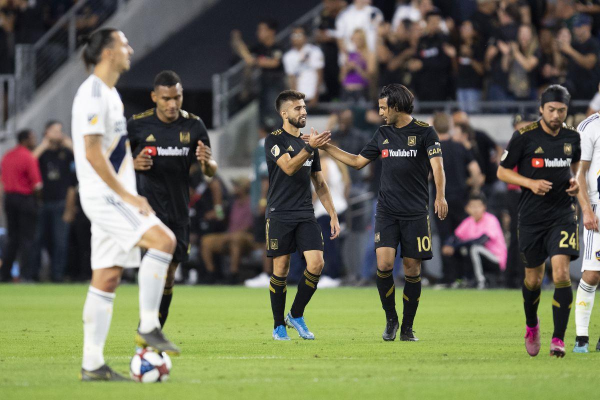 SOCCER: OCT 24 MLS Cup Playoffs - LA Galaxy at LAFC