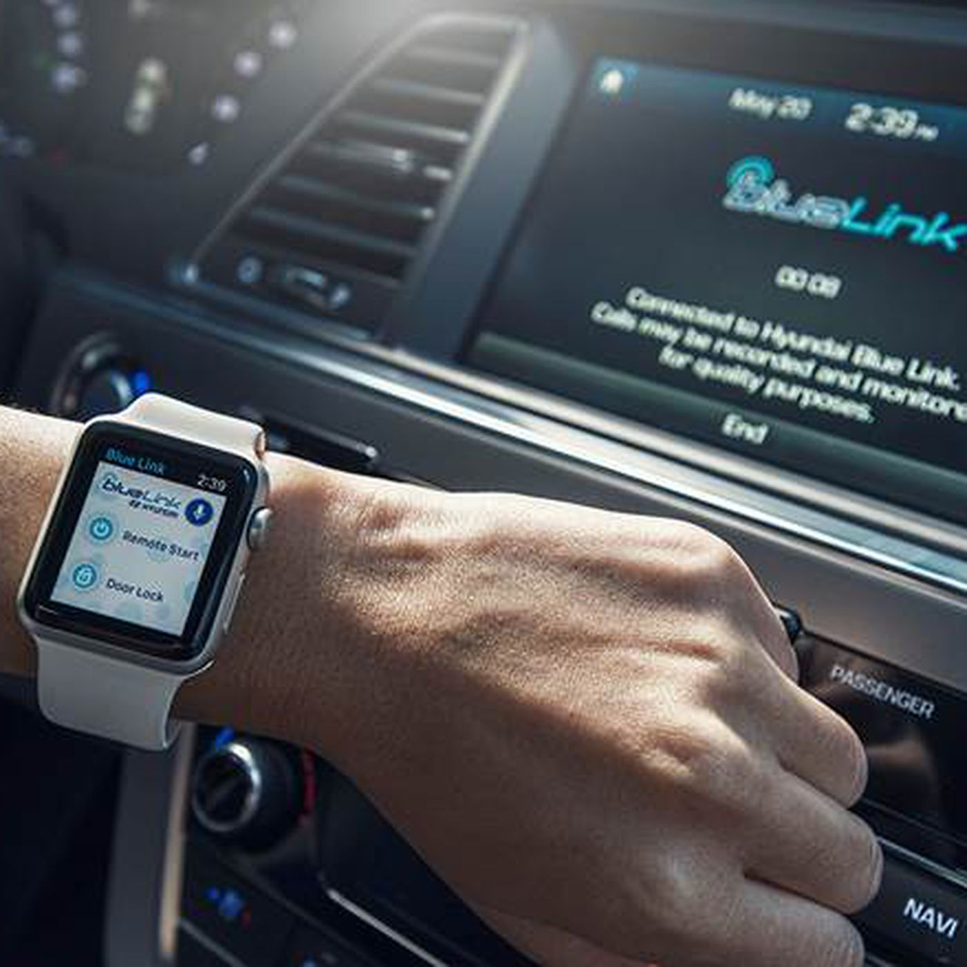 You can remotely start your Hyundai with your Apple Watch now The