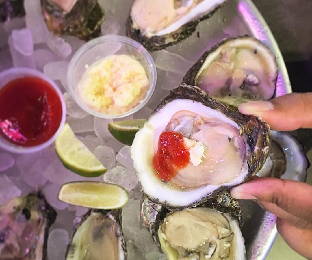 Deckhand's oysters