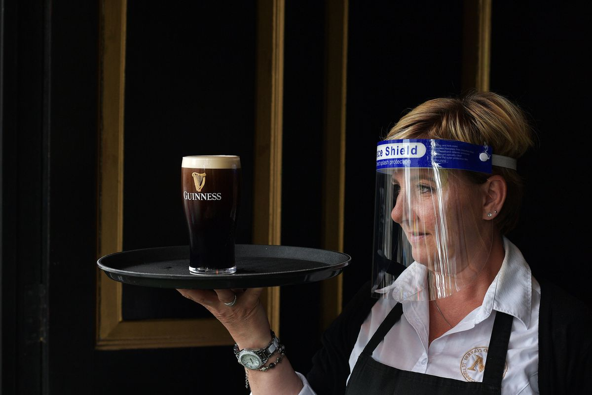 Pubs, Barbers And Other Shops Reopen In Dublin