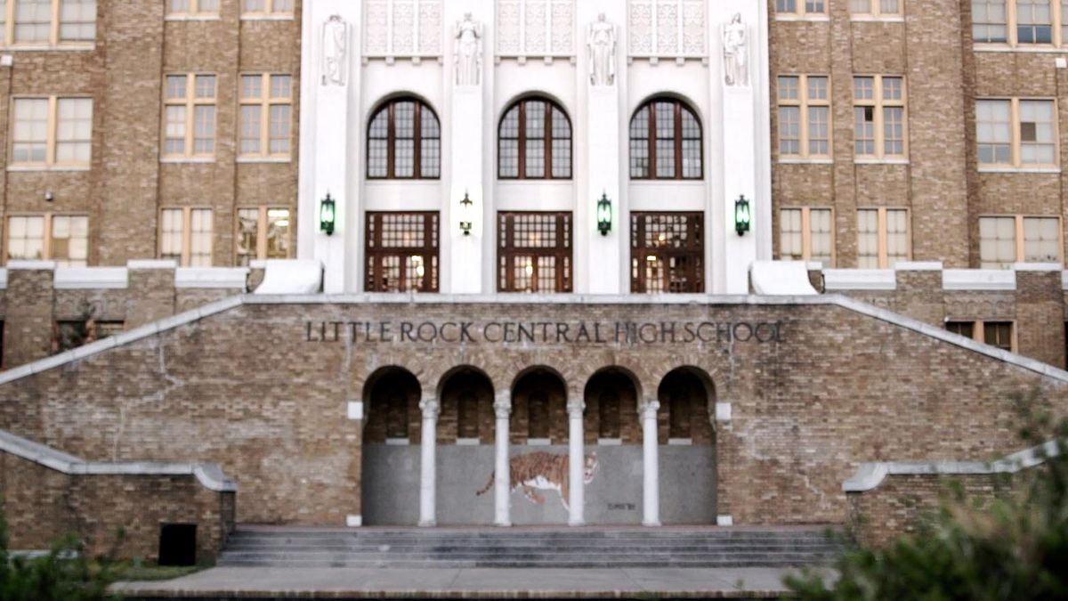 Central High School in Little Rock, Ark. where nine students integrated the then all-white school in 1957.