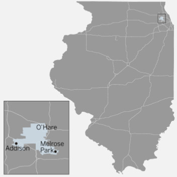 Illinois House 77th District map