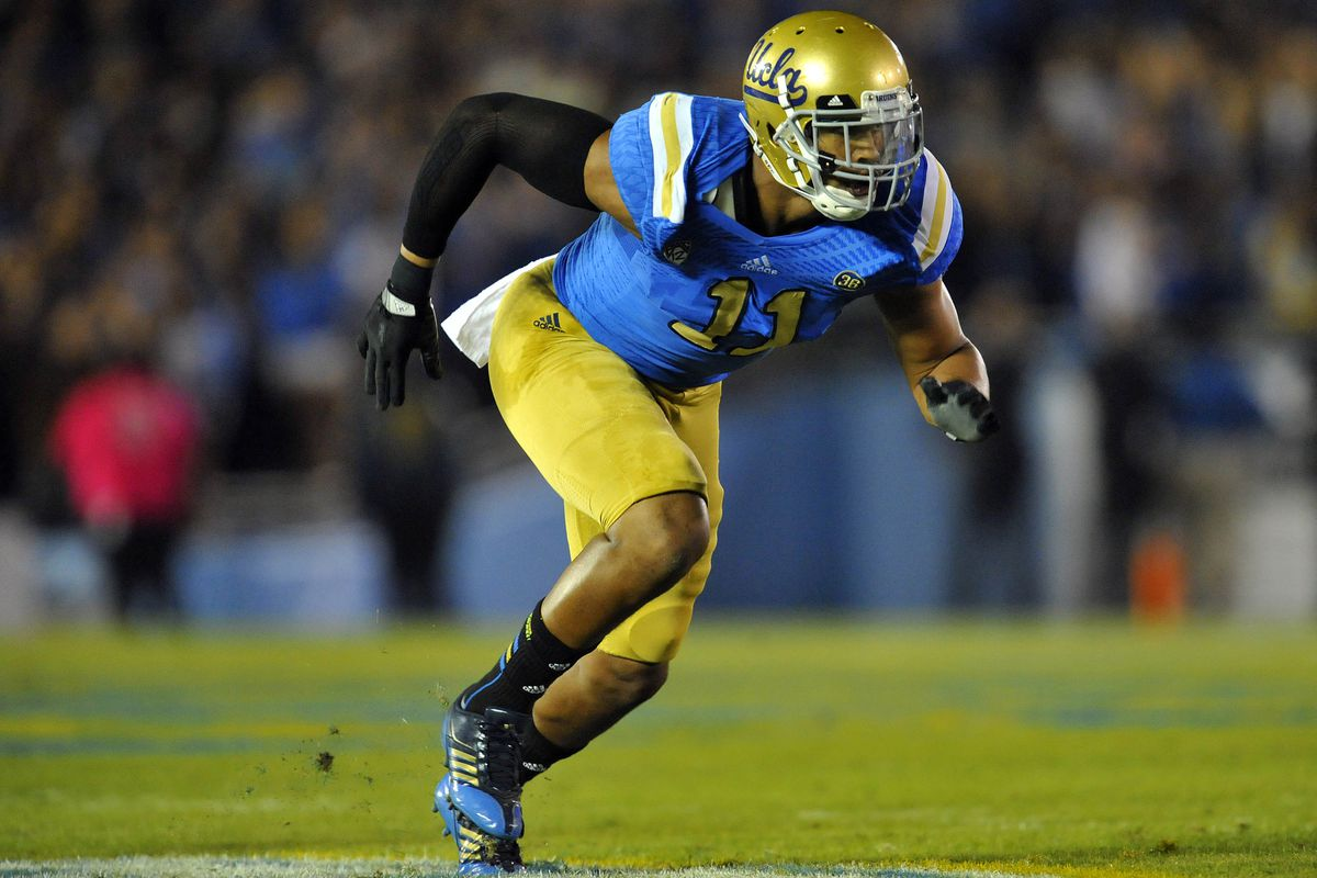 The Cowboys will turn UCLA OLB Anthony Barr into an open-side DE...if he falls to them.