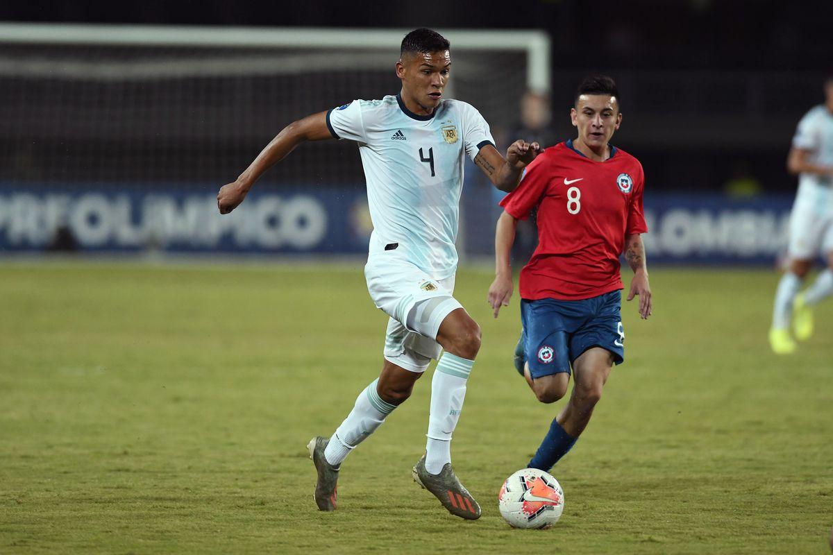 Chile U23 v Argentina U23 - CONMEBOL Preolimpico Colombia 2020