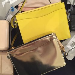 Small leather bags, $100