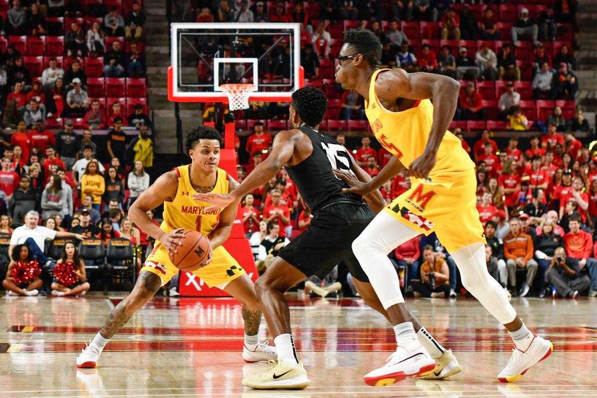 Anthony Cowan Jr, Jalen Smith, Maryland basketball, Oakland