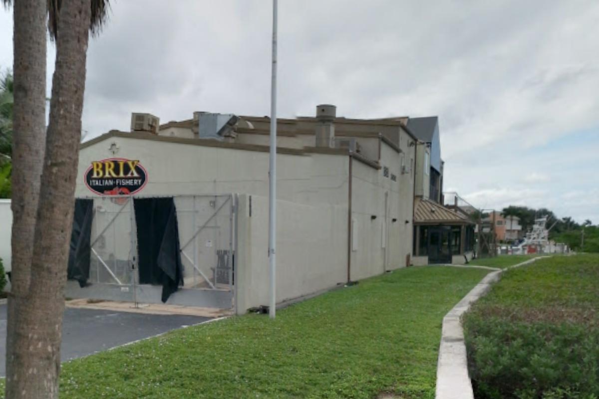 Site of proposed restaurant