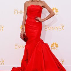Giuliana Rancic in a mermaid gown by Gustavo Cadile.