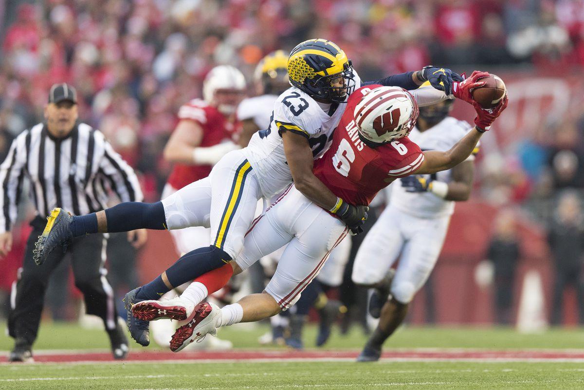 NCAA Football: Michigan at Wisconsin