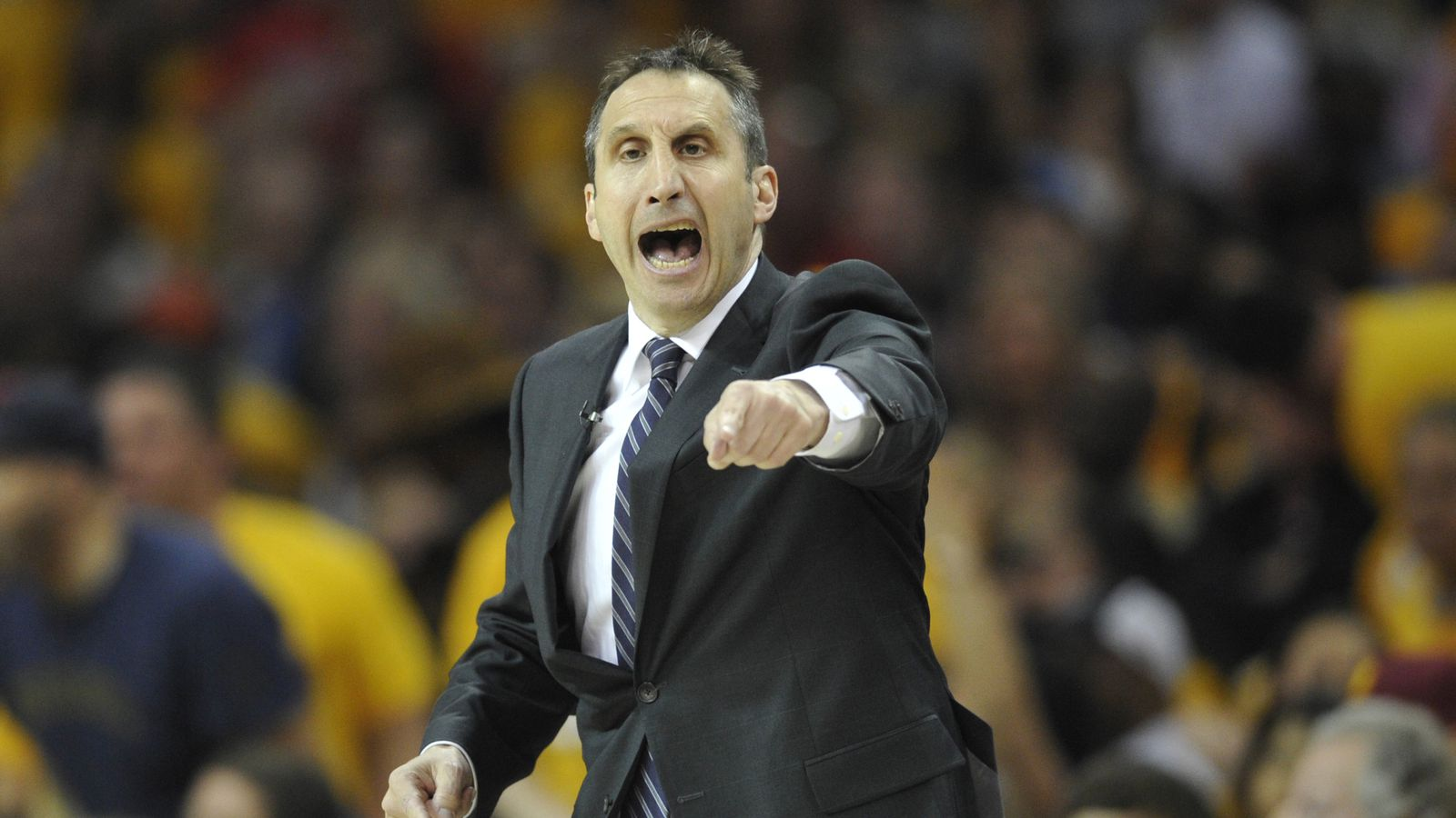 David Blatt tried to call a timeout when he had none left