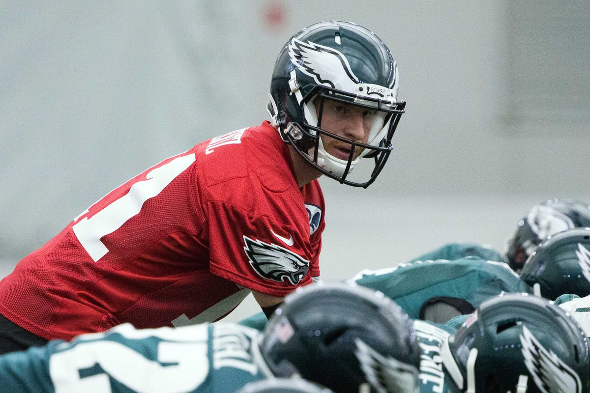 16520e2ee Eagles News  Browns don t think Carson Wentz will be a top 20 quarterback  in the NFL