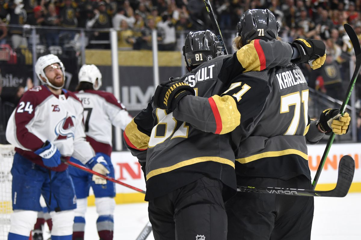 Avalanche at Golden Knights Game 6 Preview: Vegas looks to complete series  comeback, eliminate Colorado in six games - Knights On Ice