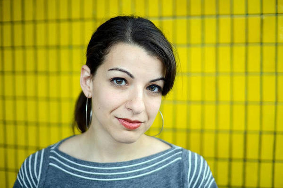 Anita Sarkeesian, a feminist known for her critical look at how women are portrayed in popular media.