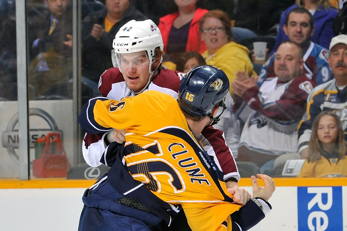 That guy in the Avs jersey likes it...reason enough to oppose?