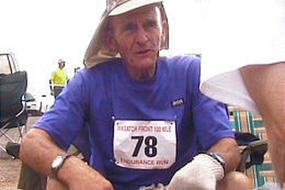 Grant Holdaway finished the Wasatch 100 in just under 36-hour time limit.