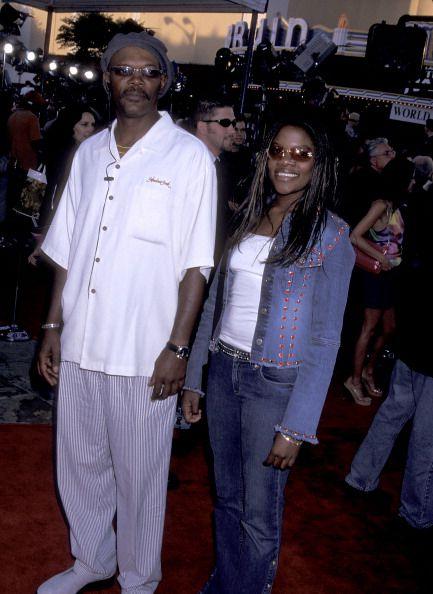 Samuel L. Jackson and Zoe Jackson