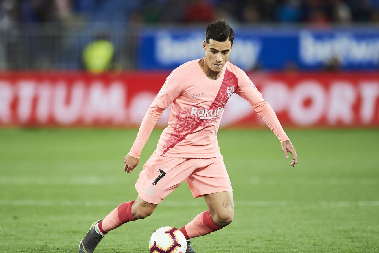 Griezmann is not going to replace Coutinho at Barca, says agent