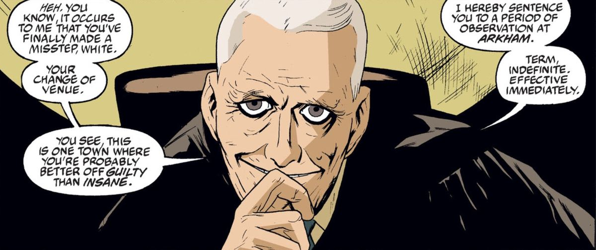 From Arkham Asylum: Living Hell #1, DC Comics (2003).